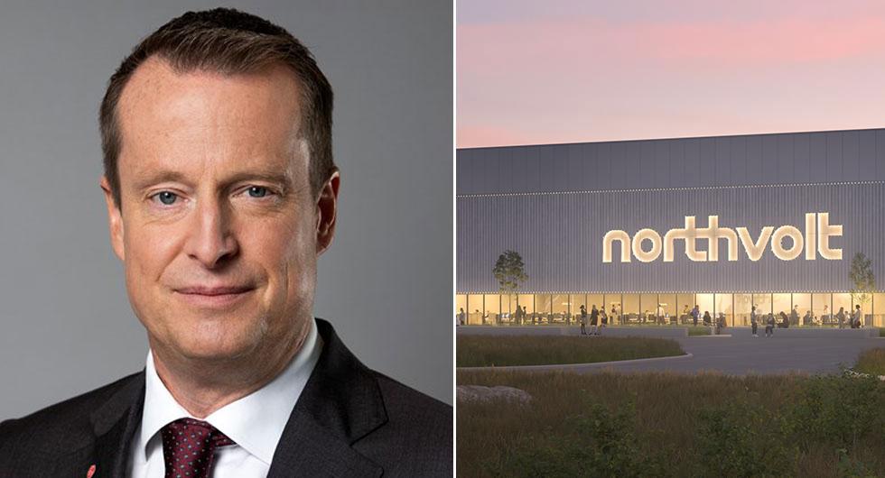 Sveriges energiminster Anders Ygeman anser att vi ligger före Frankrike och Tyskland i utvecklingen tack vare Northvolt.