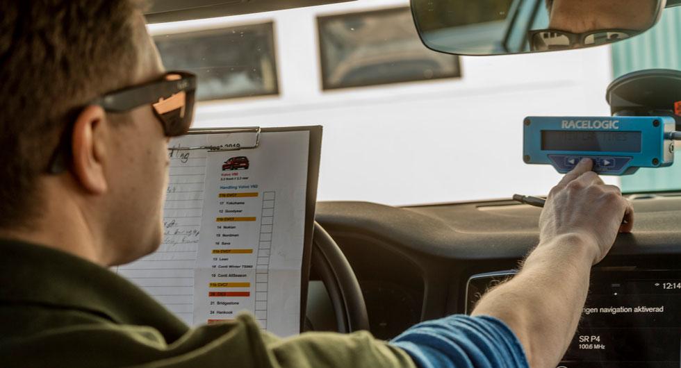 Avancerad GPS-styrd testutrustning borgar för noggranna och pålitliga testresultat.