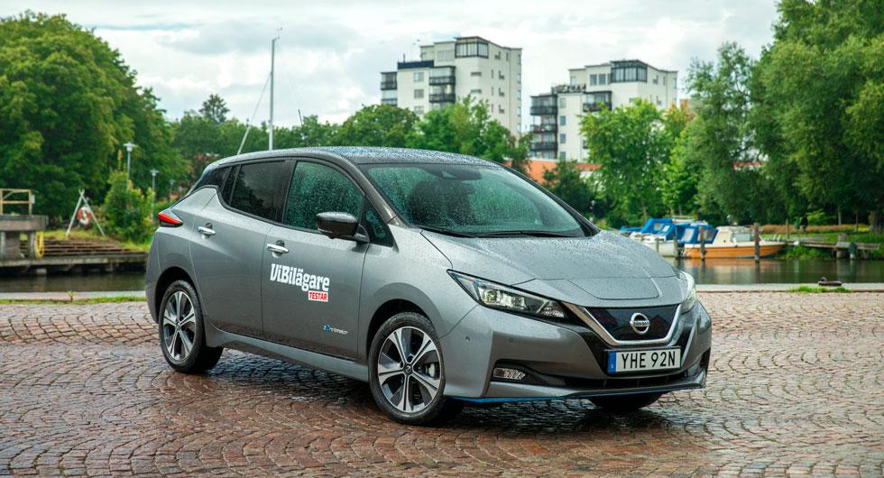 Nissan Leaf e+ Tekna. Grundpris: 424 500 kr.