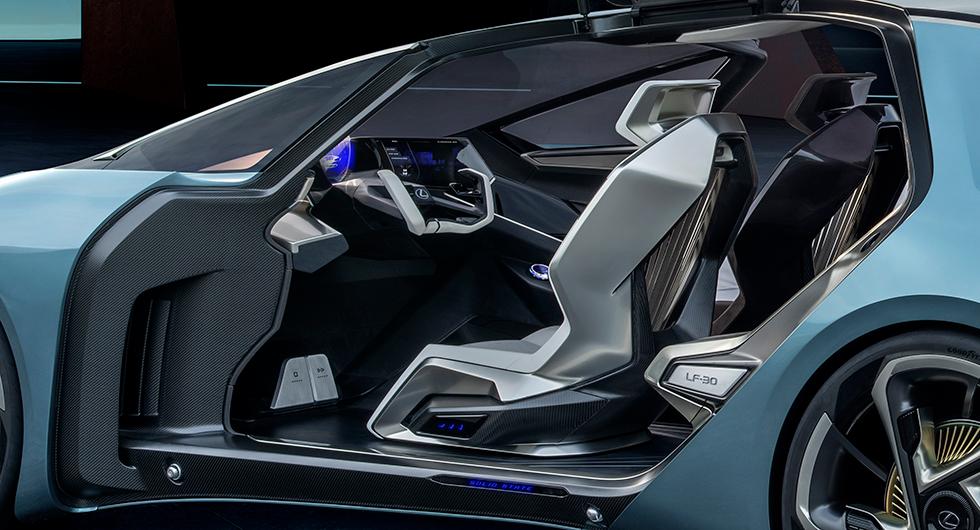 LF-30 förebådar Lexus första elbil