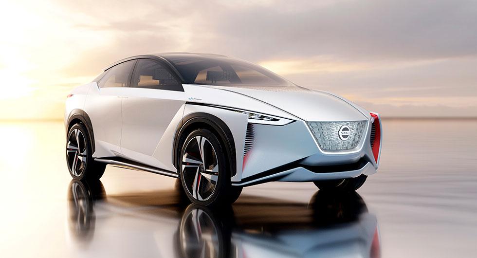 Nissan IMx Concept från 2017.