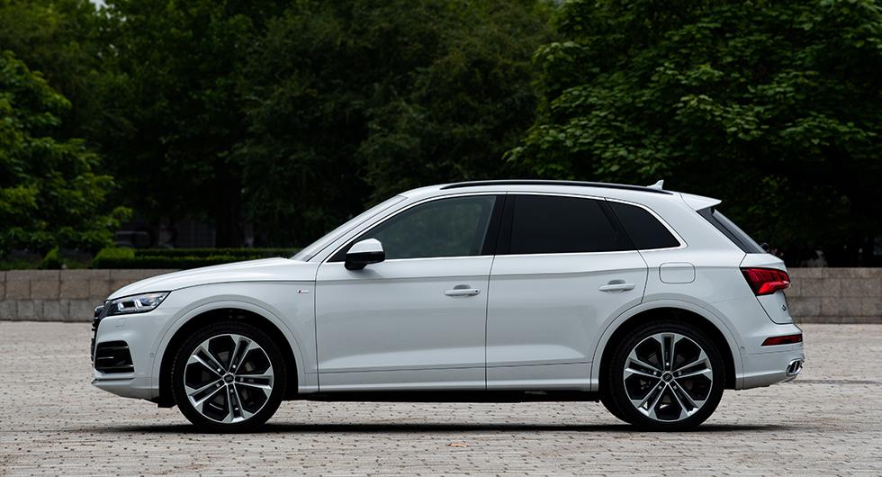 Provkörning: Audi Q5 55 TFSI e (2019)