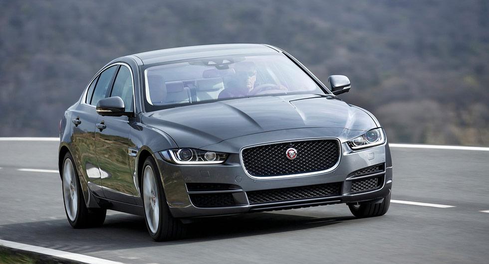 Jaguar XE har tappat 46 procent.