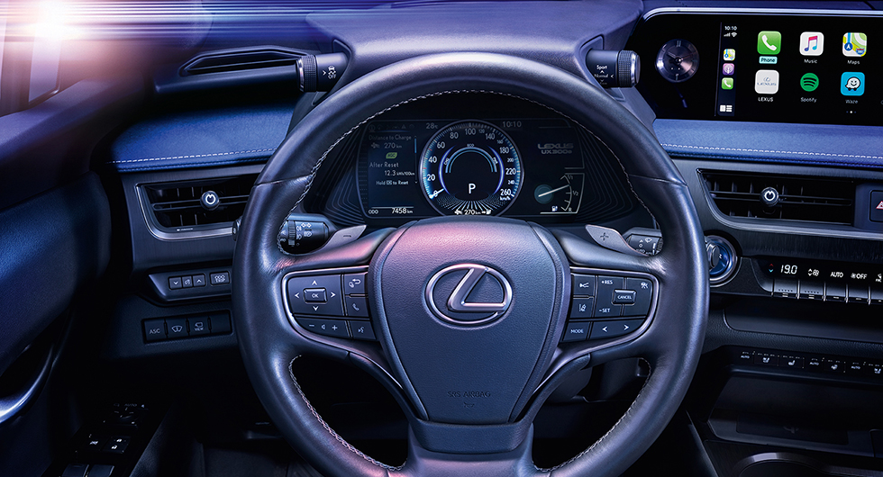Här är Lexus första elbil