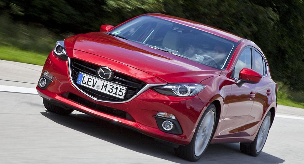 Mazda 3 har tappat 39 procent.