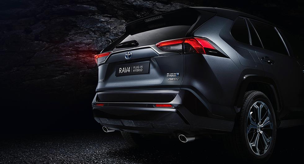 Toyota gör laddhybrid av RAV4