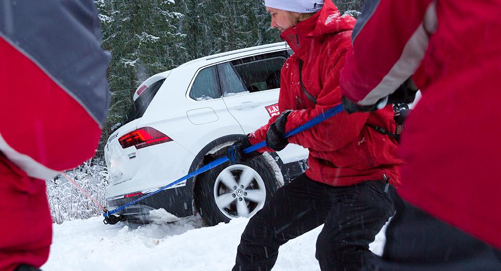Test: Vinterrusta bilen