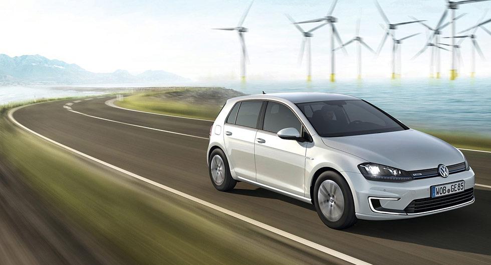 VW e-Golf har tappat 53 procent.