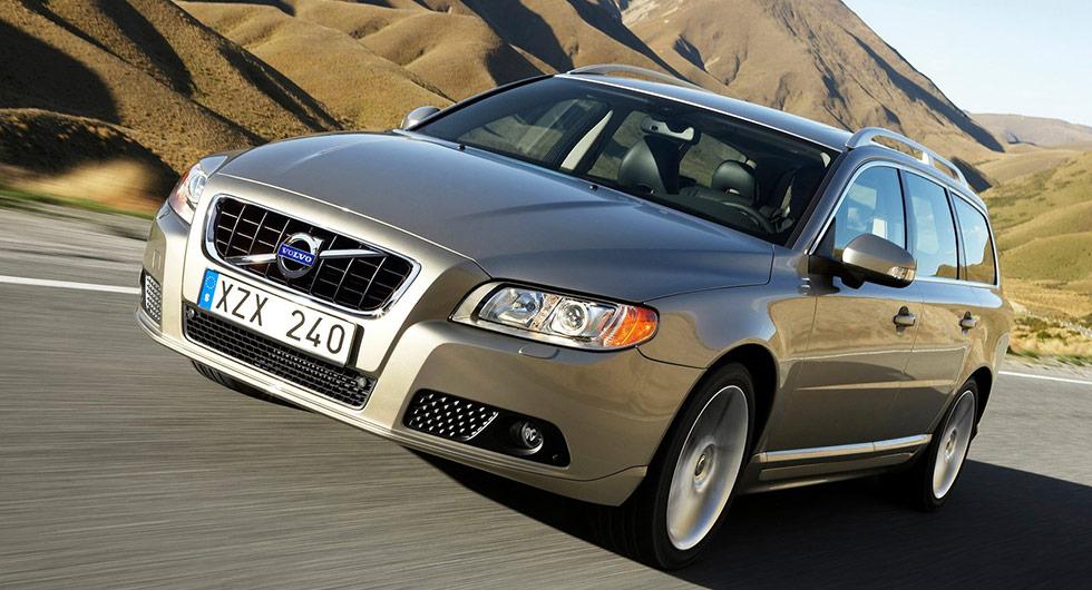 Volvo V70 2008 har tappat 84 procent.