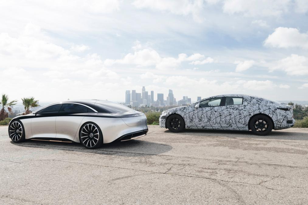 Mercedes EQS smygvisad – här är nya toppmodellen med eldrift