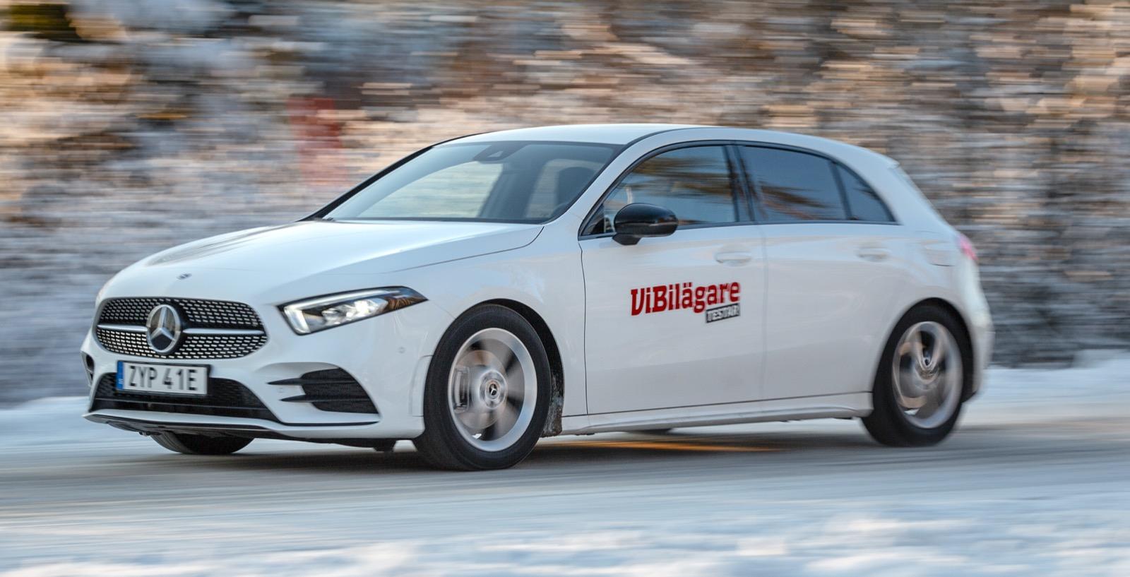 Test: BMW 118i, Mazda 3 Skyactiv-X och Mercedes A200 (2020)