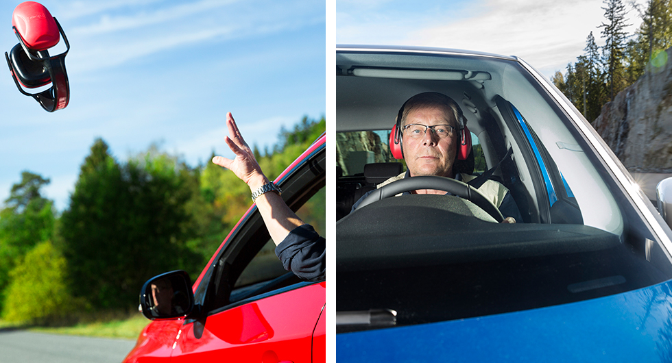 I en del bilar borde hörselskydd vara standard och i andra behövs de inte alls. Vårt test ger besked om vilka!