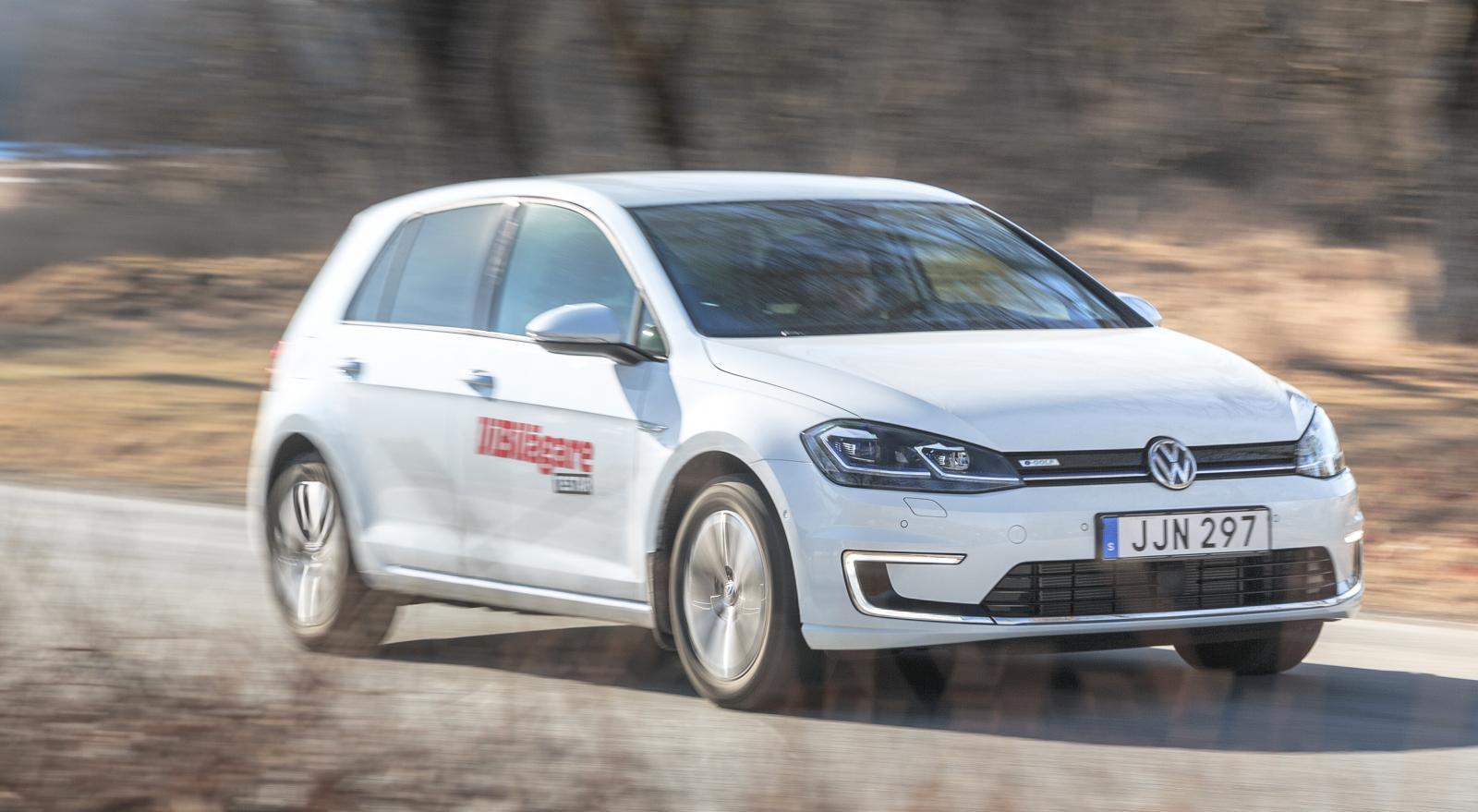 Volkswagen e-Golf är snålare än konkurrenten Nissan Leaf enligt ägarna.