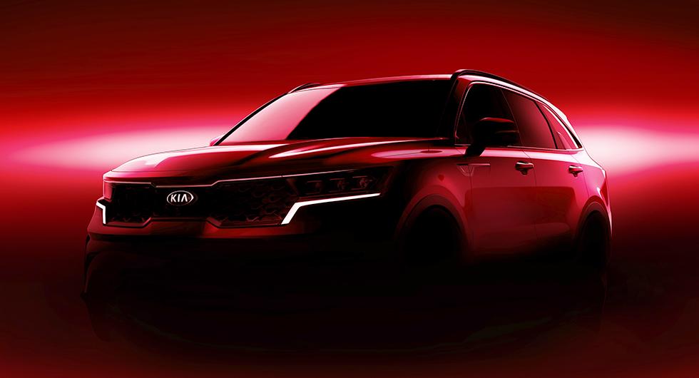 Kia Sorento blir hybrid