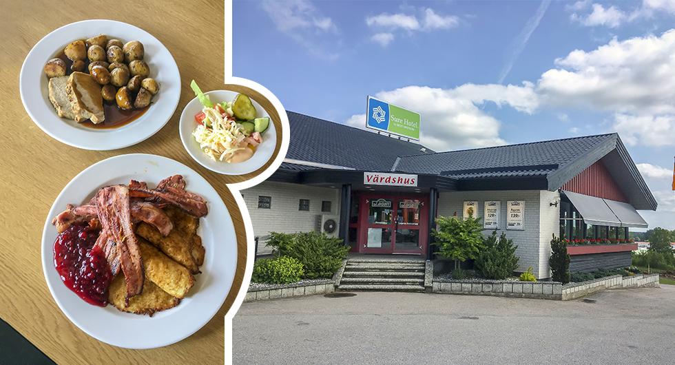Motell Värnamo, 3/5. »Salt, flott och gott!«