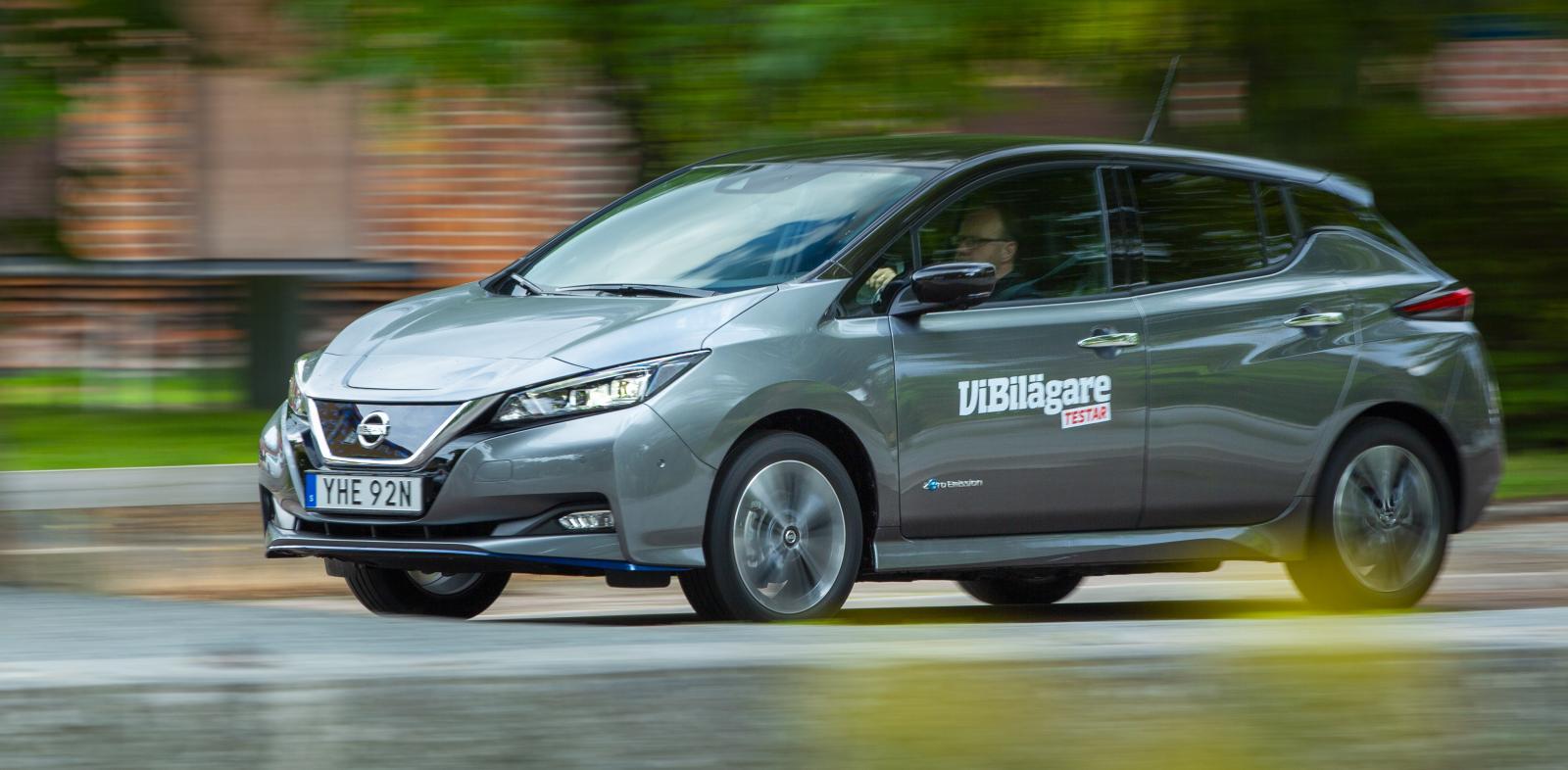 Nissan Leaf är billigaste elbilen, men konkurrenterna kommer inte långt efter.