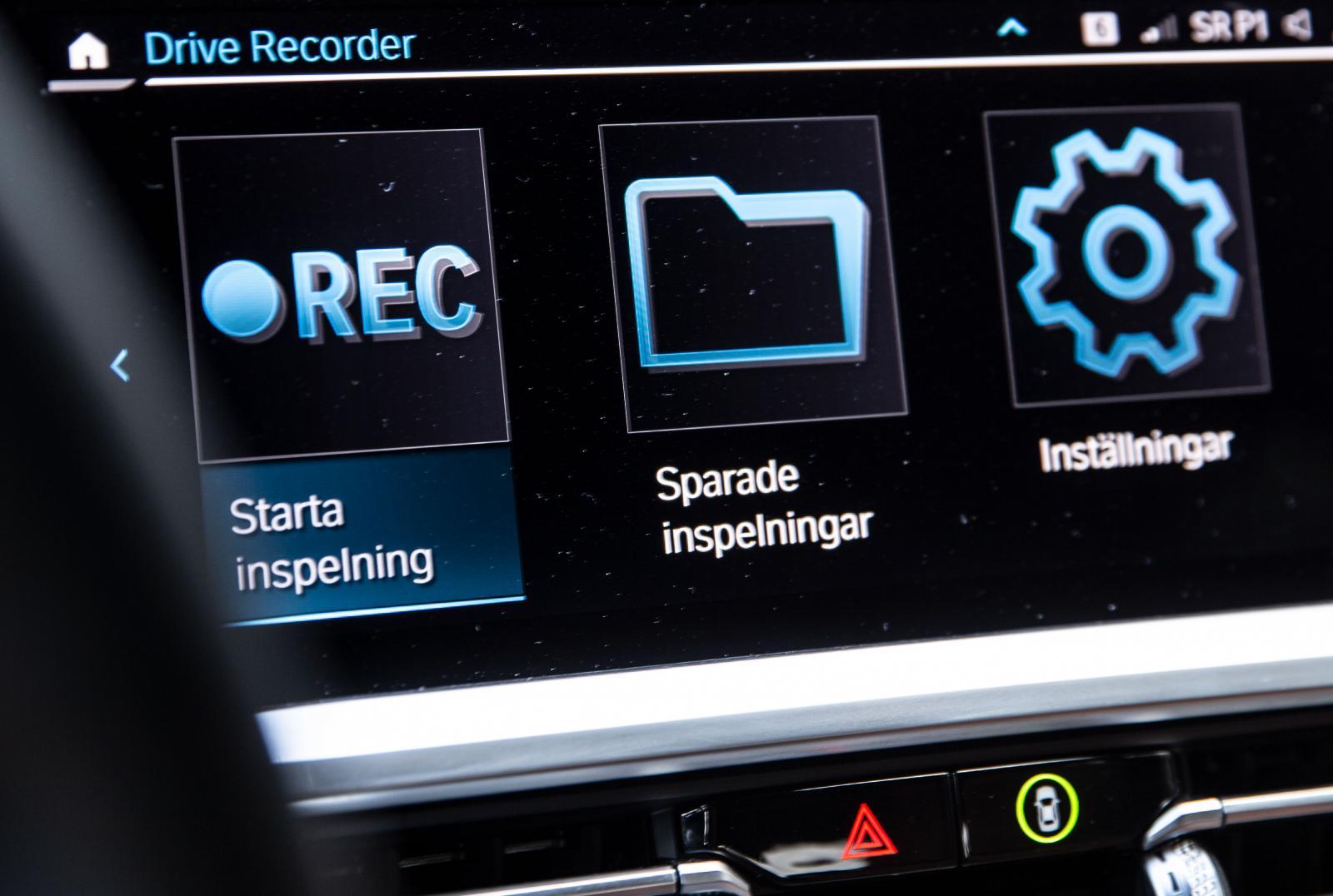 Sudda ut tveksamheter vid en smäll med BMW Drive Recorder.