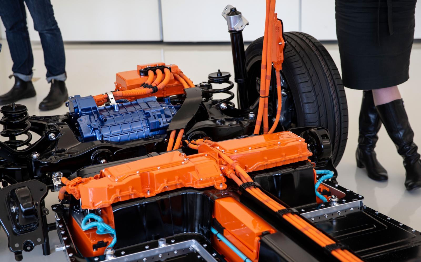 XC40 Recharge batteri har en kapacitet på 78 kWh.