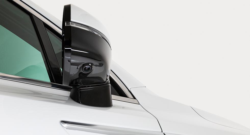 Döda vinkeln i blickfånget på nya Kia Sorento