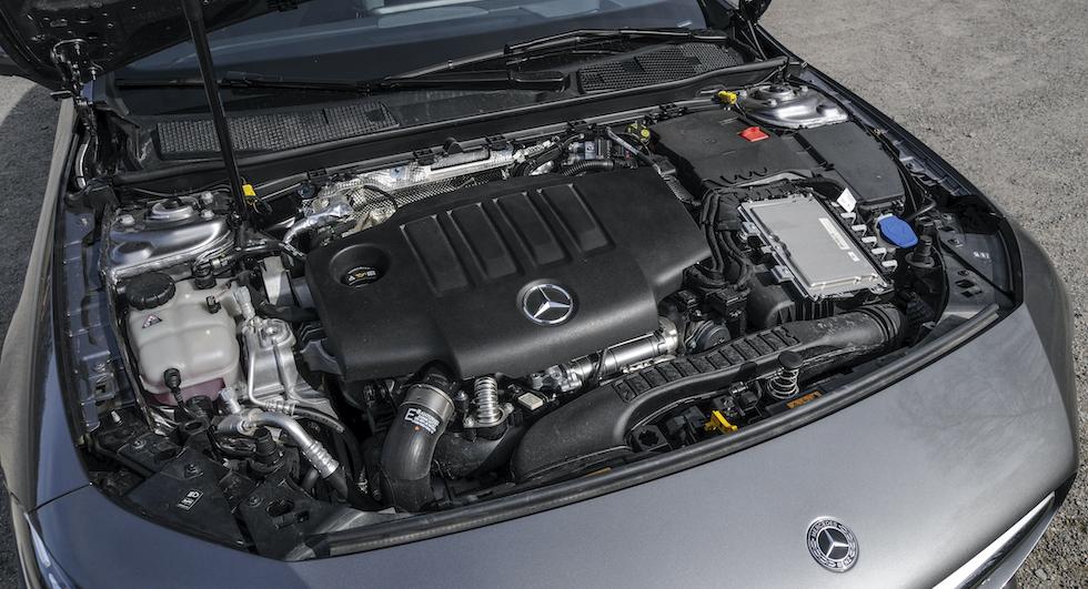 Dieselmotorn med 190 hk räcker gott och väl för stadspendlaren.