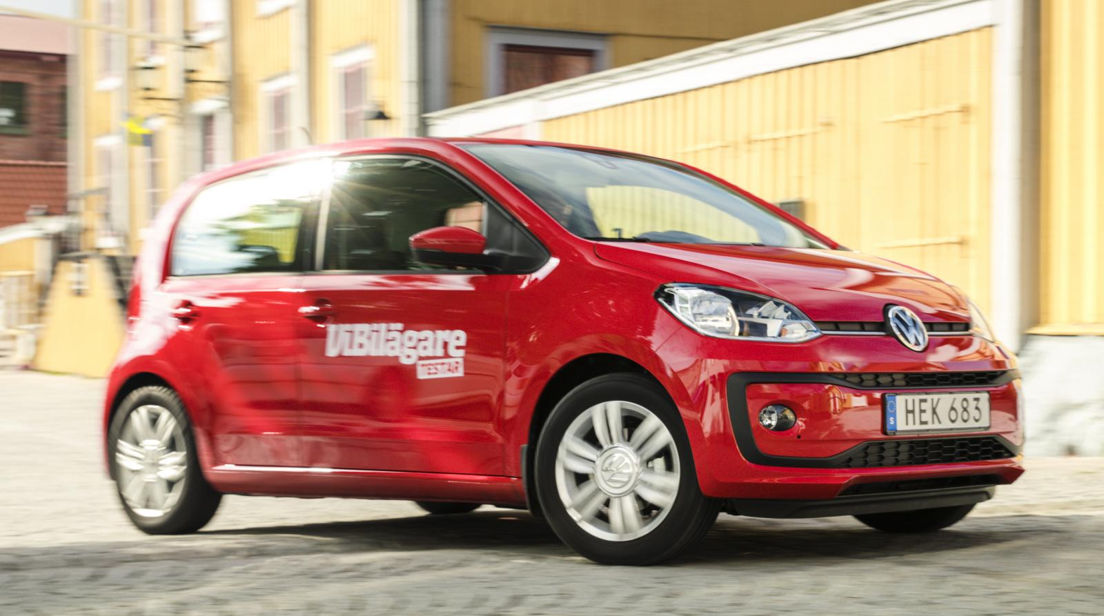 Volkswagen Up tar många fina placeringar och avslutar på topp i äldsta åldersklassen (2009-2012).