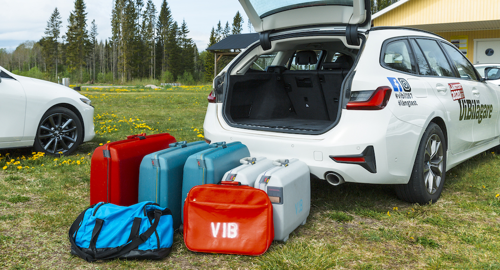 Nya 3:an har blivit rymlig, men yxig bagageutformning kan irritera redan före avfärd.
