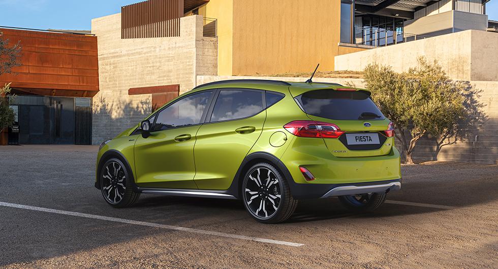 Ford Fiesta blir mildhybrid