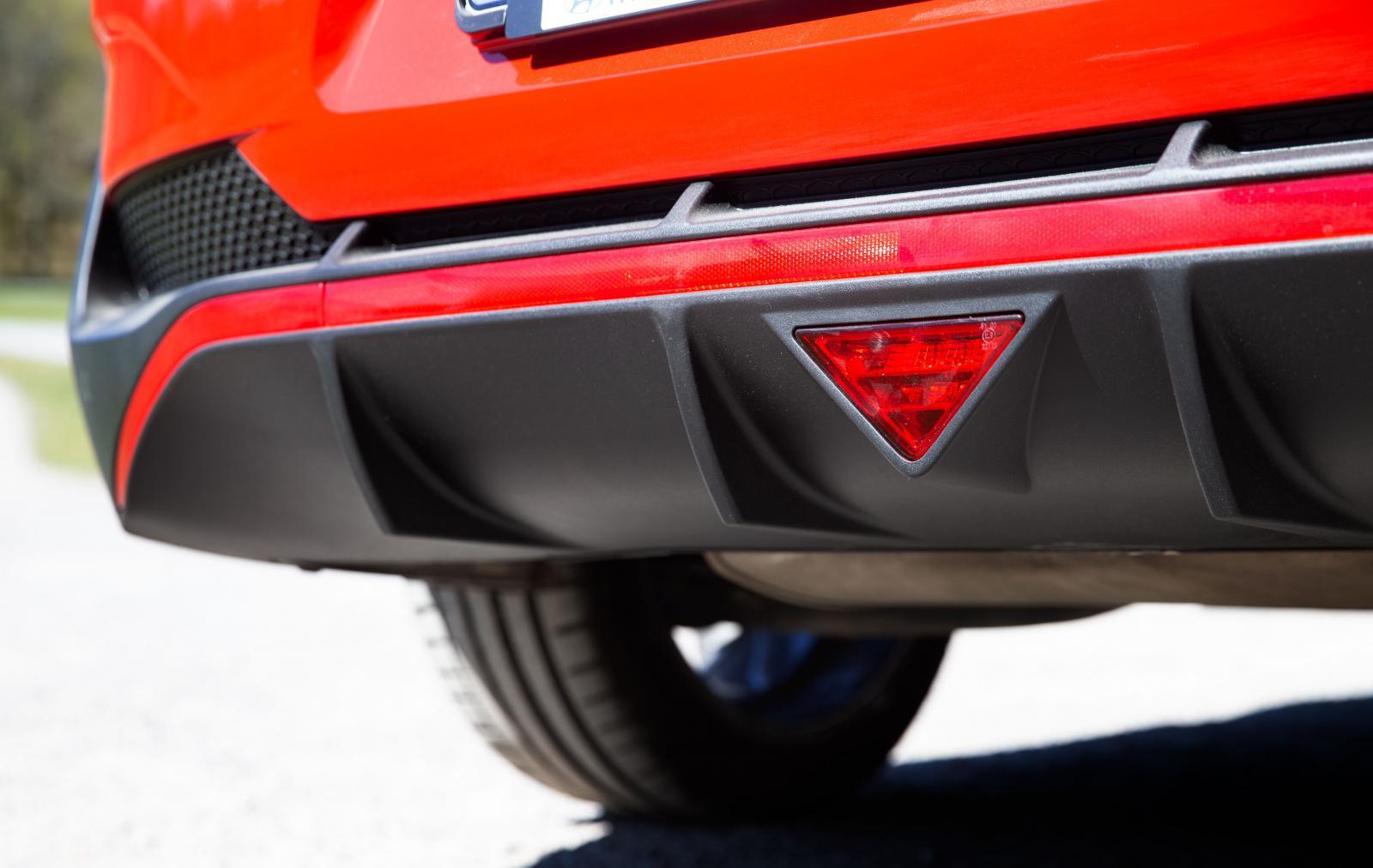 Utrustningspaketet N-line ger bilen flera sportiga designdetaljer.