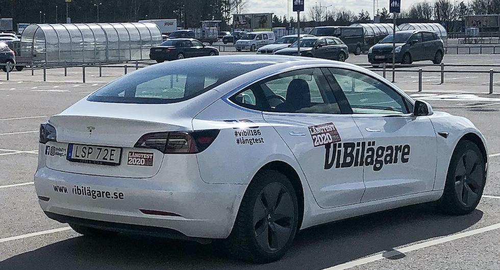 Långtest: Tesla Model 3 (2020)