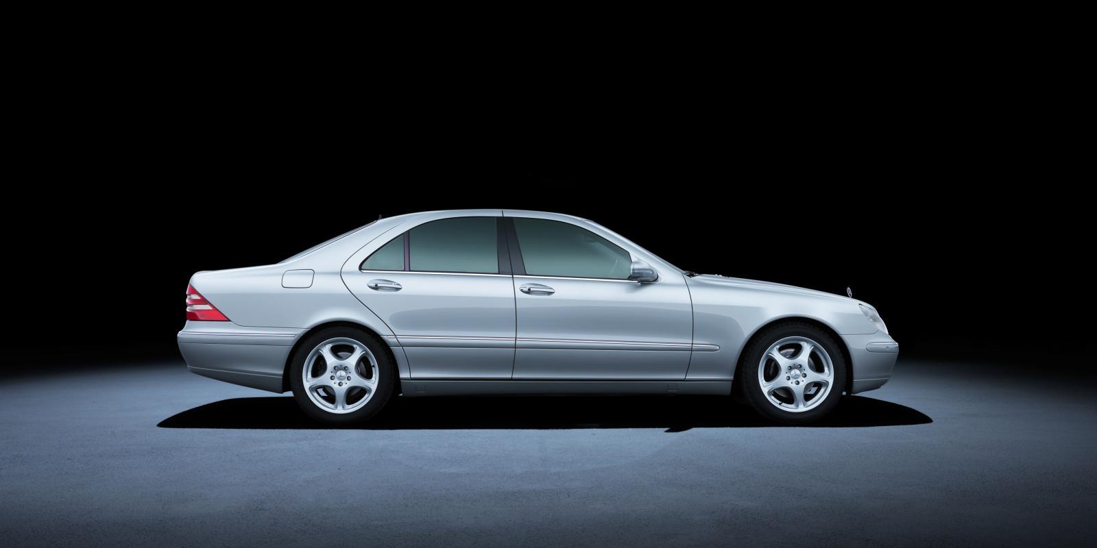 Mercedes S-klass genom tiderna: Spjutspetsbilen snart i ny generation