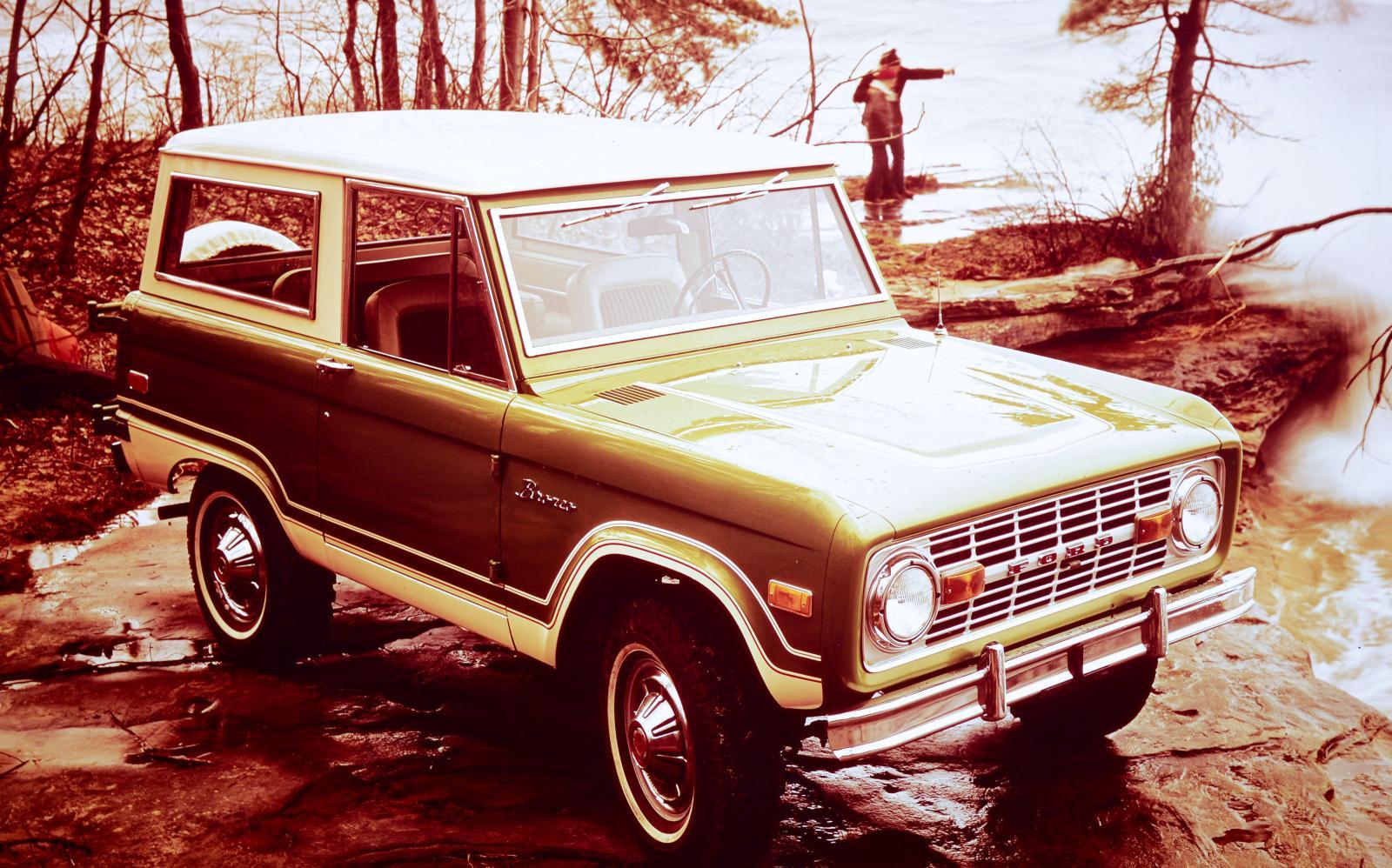 Ford Bronco gör comeback – tre nya modeller smygvisade