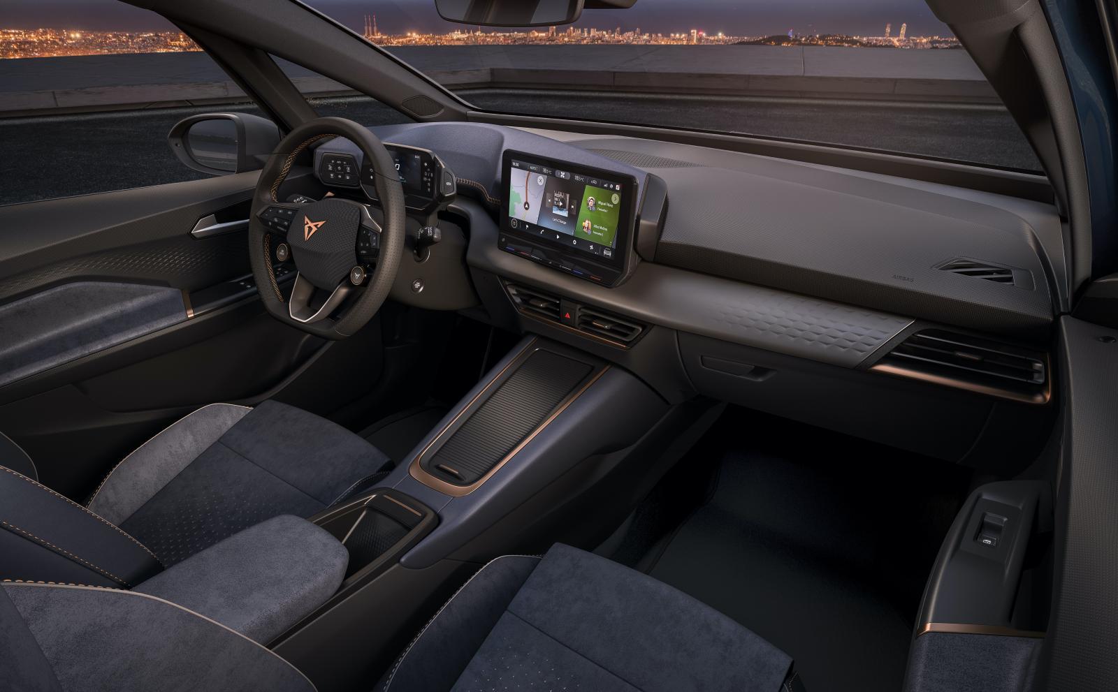 Cupra el-Born är en sportigare version av Volkswagen ID 3
