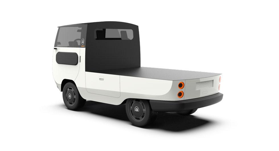 Eldrivna minibussen kan omformas efter behov