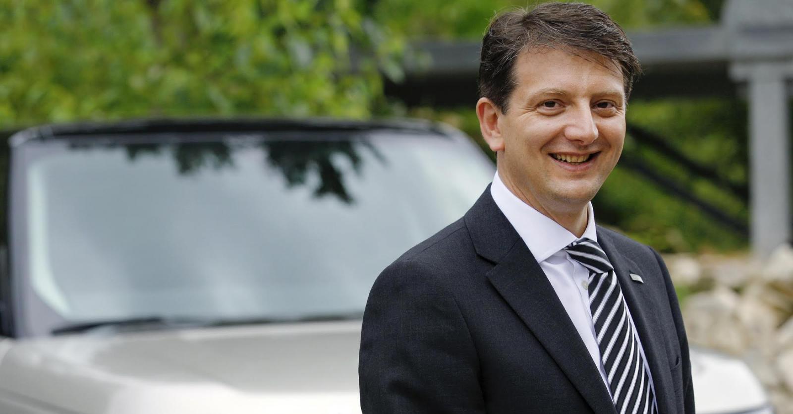 Nick Rogers är produktutvecklingschef på Jaguar/Land Rover.