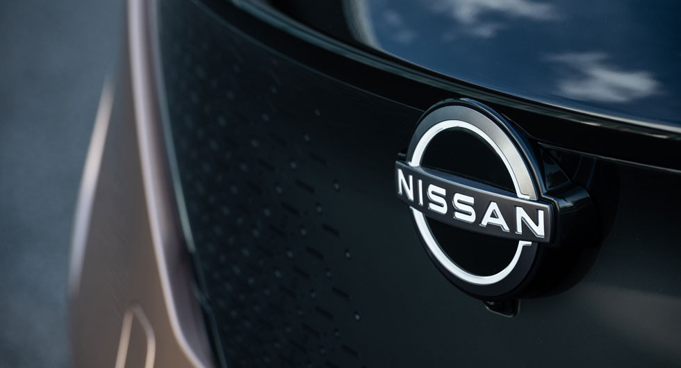 Nissans nya emblemdesign