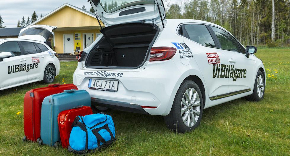 Ett tips för att få plats med alla väskor och pinaler är att övningspacka före semestern.