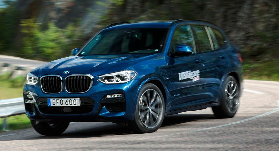BMW X3 har tolv procent högre förbrukning än 3-serien med samma drivlina, enligt ägarna.