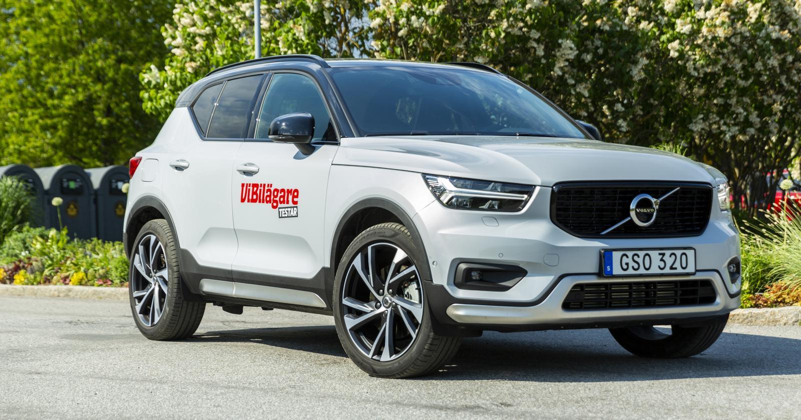 Volvo kan glädjas åt hela 50 procent fler registrerade XC40 än under samma period förra året.