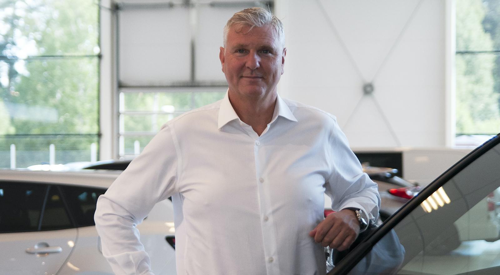 David Sandberg är vd för Toyota i Örebro. Bilmärkets återförsäljare får höga poäng av landets bilägare.