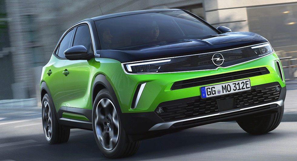Nya generationen Opel Mokka dyker först upp med eldrift.