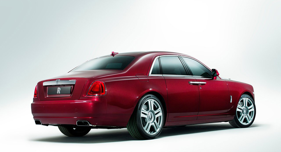 Rolls-Royce Ghost i sin nuvarande form.
