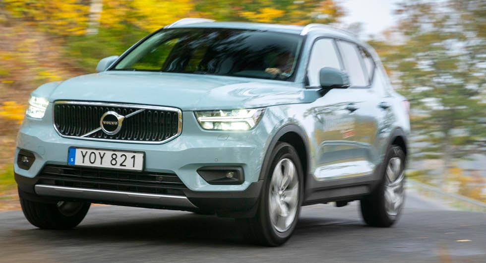 Du som köper en Volvo XC40 T4 kan förvänta dig nio procent högre förbrukning än i V40 T4.