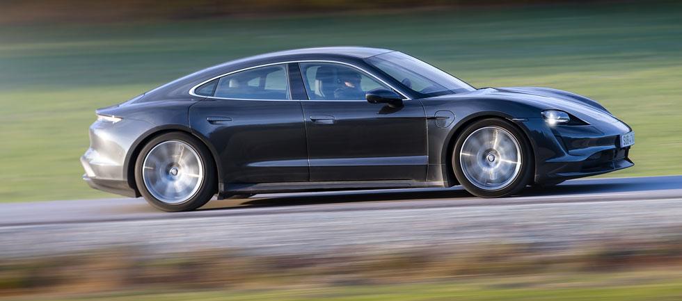 Porsche Taycan är dyrast att äga i den här jämförelsen, oavsett version.