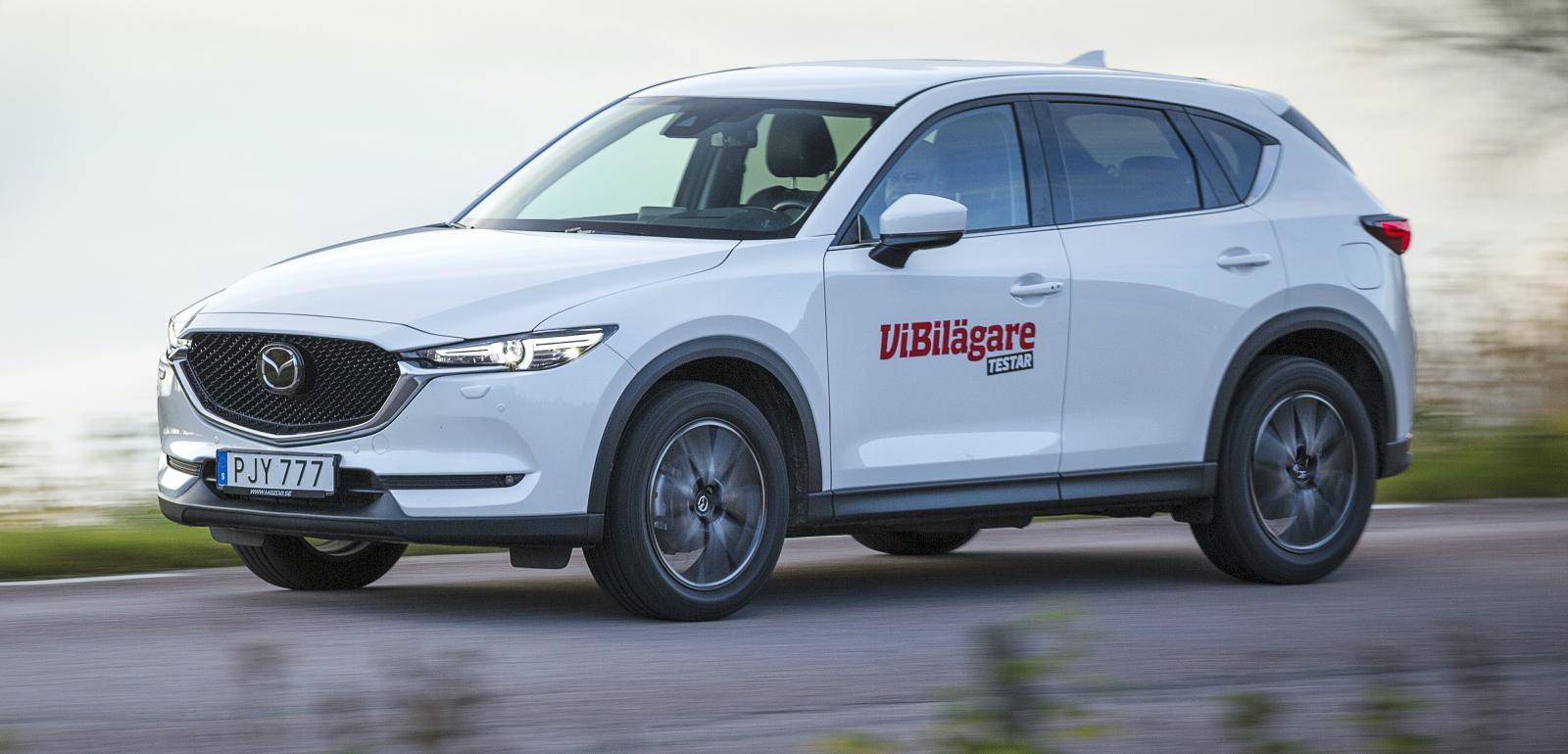 """Mazda CX-5 med dieselmotor blir en riktig """"malusbil"""" med fordonsskatt på 15 000 kronor om året."""