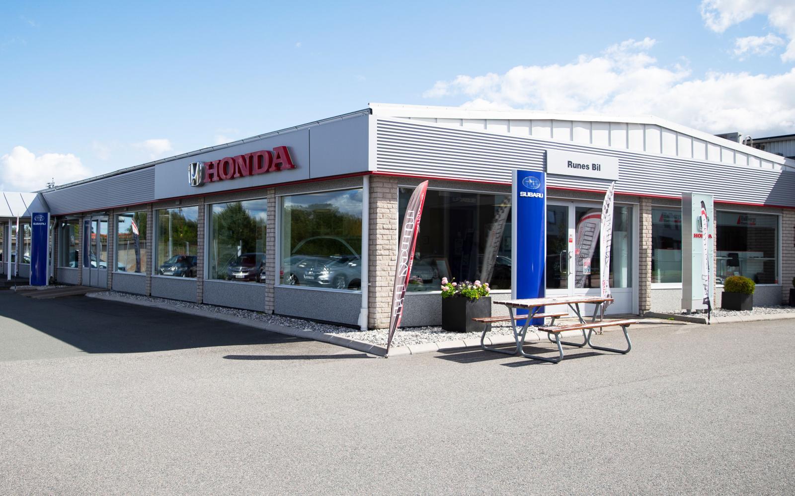 Runes Bil och Hallbergs Bilservice sköter försäljning och service av Honda i Habo.
