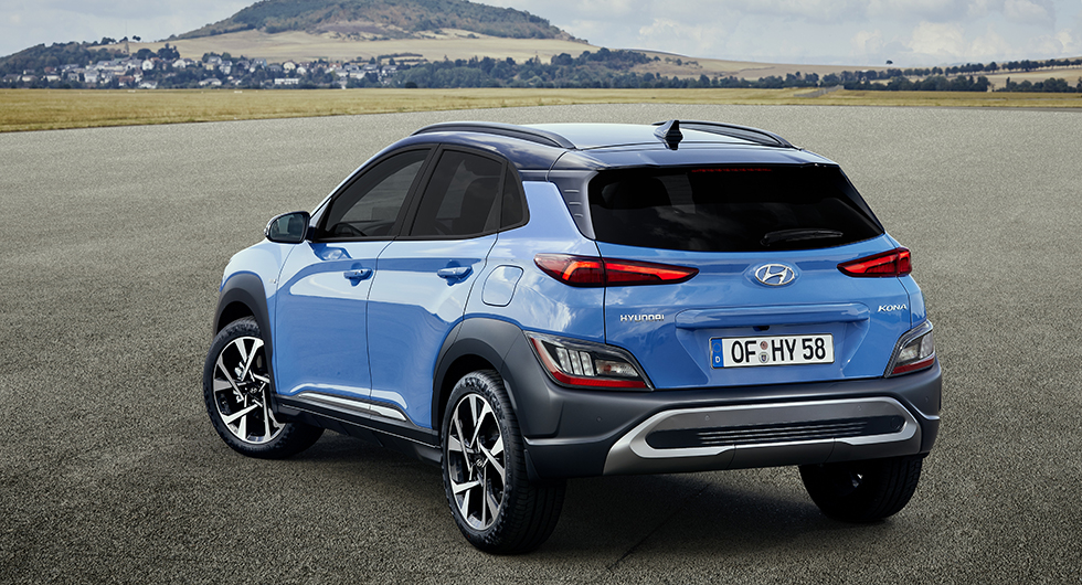 Hyundai Kona uppdateras