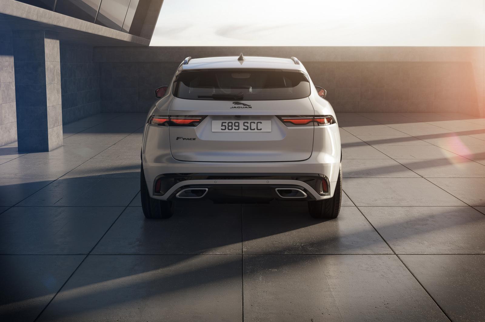 Jaguar F-Pace uppdateras – kommer som laddhybrid