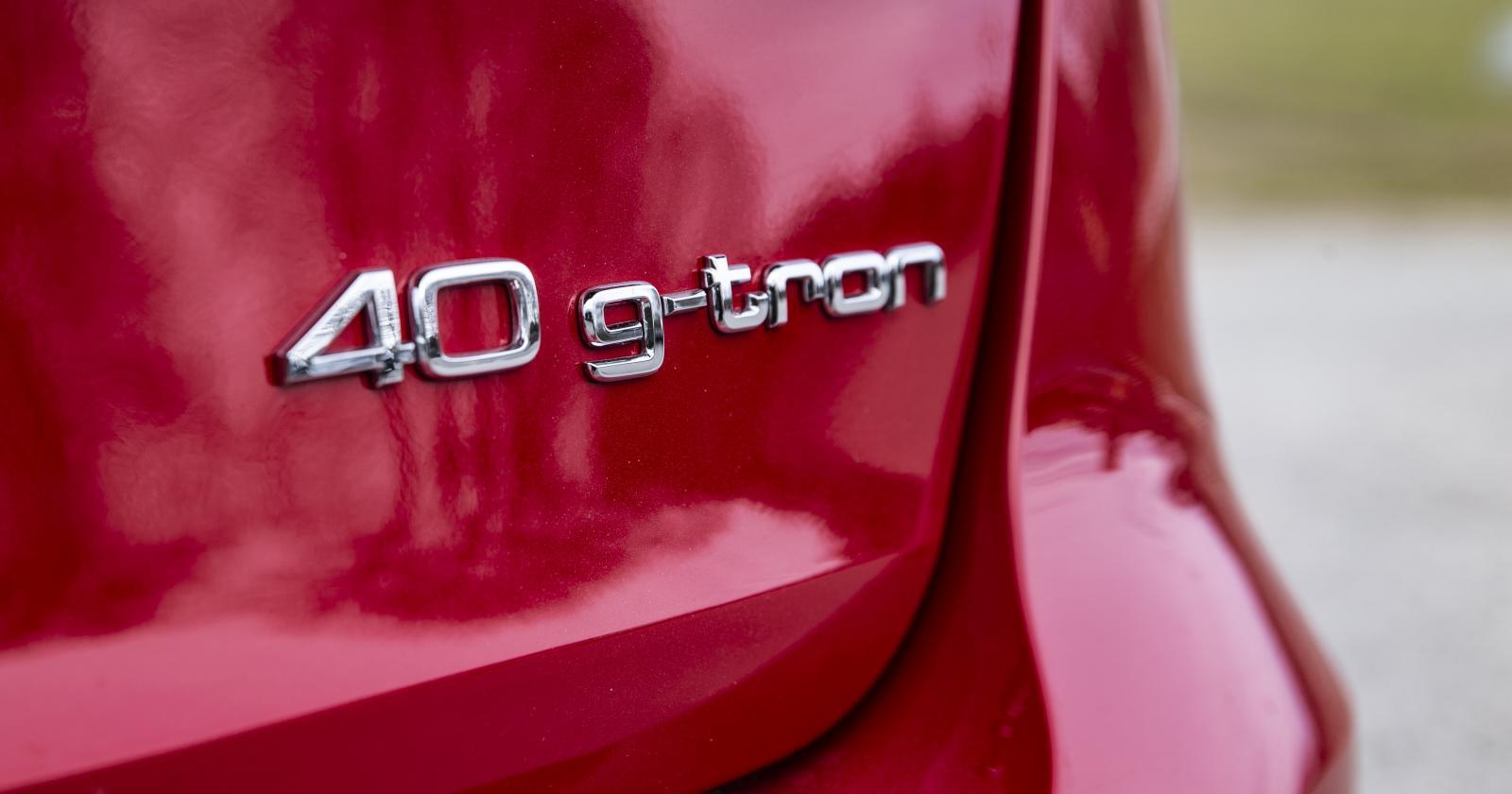 Audi A4 är en av få nya bilar som säljs med gasdrift från början.