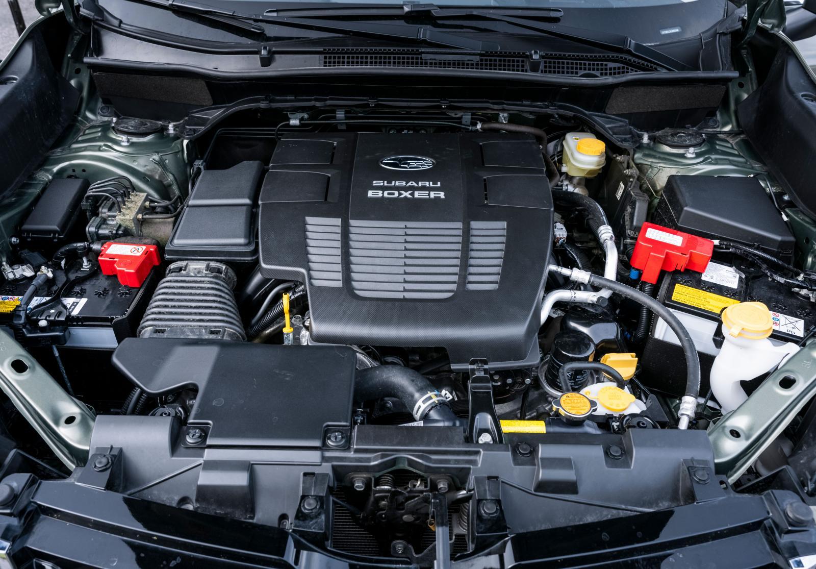Oväntat snål, visst, men Subaru skulle behöva en rejäl hästkraftspark för att motorkaraktären skulle leva upp till bilens övriga goda egenskaper.