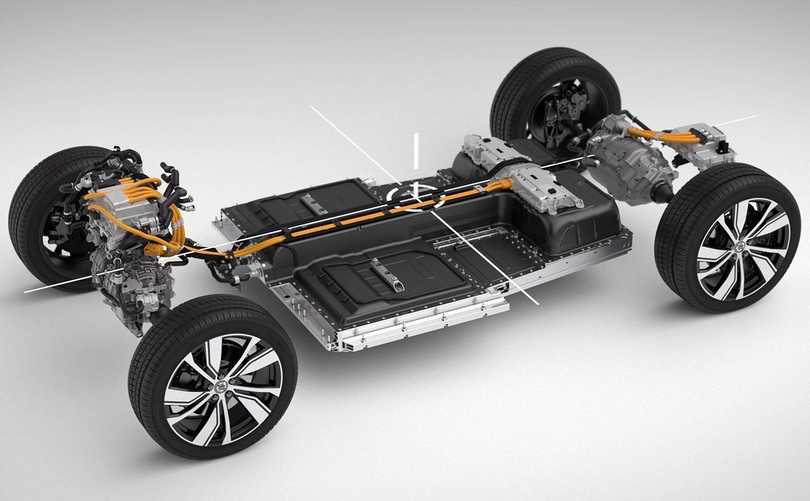 Volvo använder sydkoreanska och kinesiska batterileverantörer i sina elbilsmodeller.